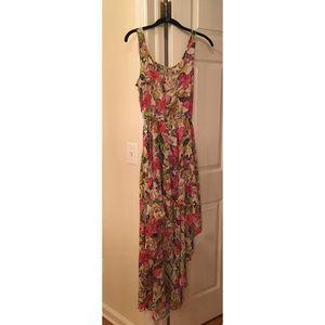 High Lo Show Me Your MuMu Floral Dress